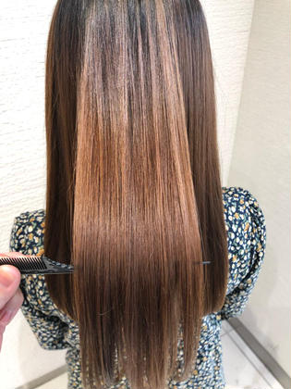 ❤️ブリーチ毛、ハイダメージの方専用❤️✨髪質改善酸熱トリートメントストレート✨