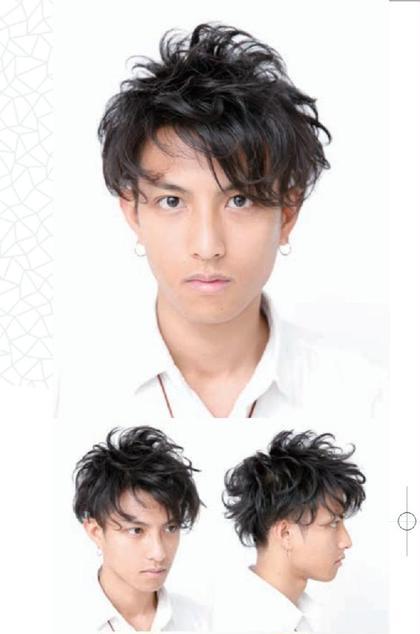 実際のパーマイメージです! Face hair mode所属・高橋旬のスタイル