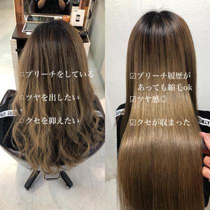 💛本物の🌈極🌈髪質改善縮毛矯正💘➕カット➕ダメージ分解シャンプー 💛