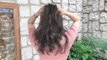 【人気No.3】オーガニックハーブカラー+髪質改善キュアトリートメント ¥7000