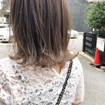 ✅【再来2.3回目のご来店】抜け感カット & 透明感カラー