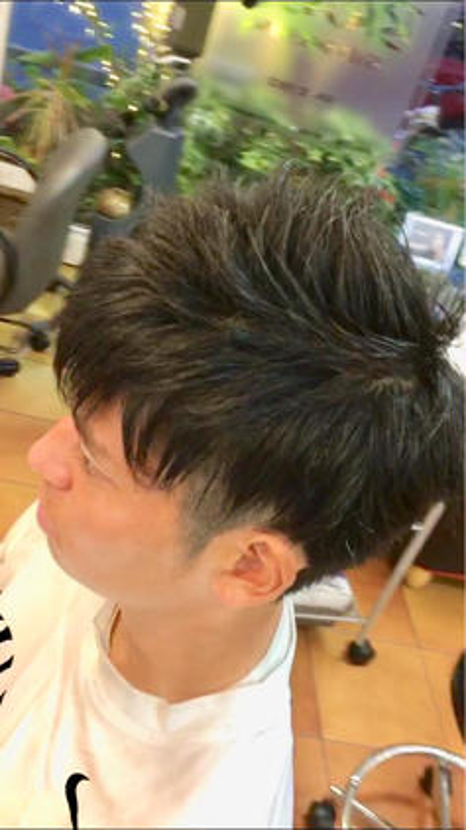 藤田梨奈のメンズヘアスタイル・髪型