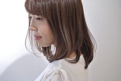 季節の変わり目に☆カット & ヘアカラー & ヘッドスパ