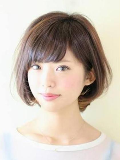 🔅カット+前髪、お顔周りのポイントストレート+集中ケアトリートメント🔅