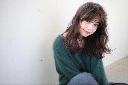 目ギリギリバングが可愛い♡ THEATER所属・武藤茜のスタイル