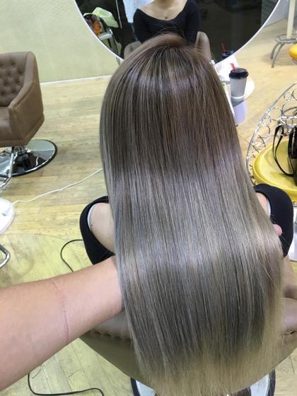 【エクステ初心者オススメ】50㎝50本+馴染ませカット✂︎仕上げの巻き髪もあり🤙