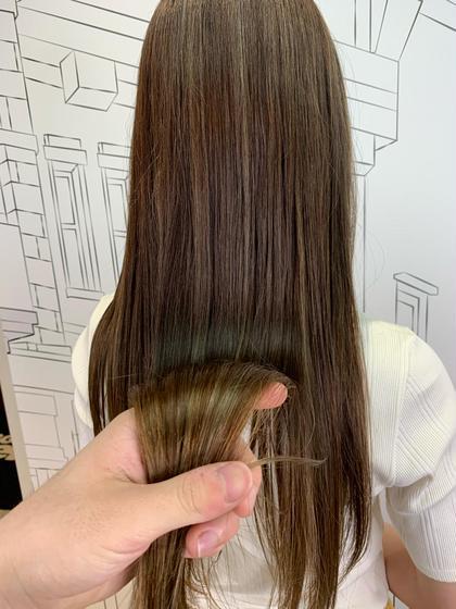 🌻綺麗に髪の毛を伸ばしたい方🌻毛先カットと枝毛カット+✨髪質改善トリートメント✨oggiotto6行程トリートメント