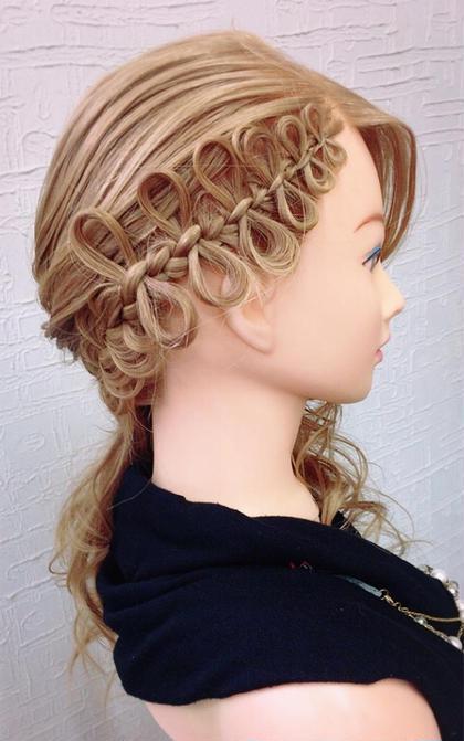 ヘアセット✨編み込み、アレンジヘア