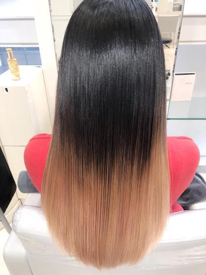 ハイグラデーションカラー✨✨     【Ash銀座HP】 →https://ash-hair.com/staff/20060058/    【インスタグラム】✨フォロワー10000人突破✨ →https://www.instagram.com/takaishi_ash/