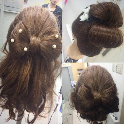 セットの練習❤️ hair&make ChouChou所属・松山仁美のスタイル