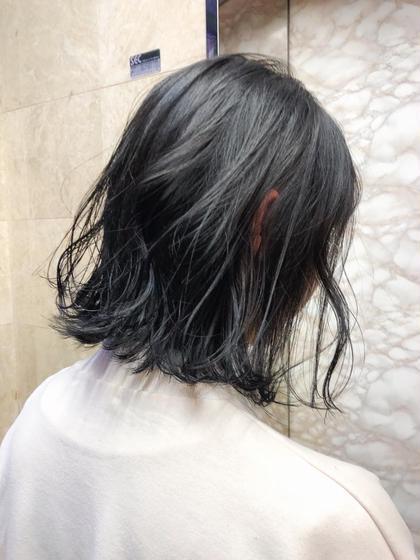 【人気No. 1❣️】透けるイルミナカラー&アディクシーmix & 似合わせカット&最新シルクトリートメント&コテ巻き