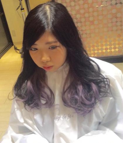 ポイントカラー/コテ巻き LUCY所属・山本将史のスタイル