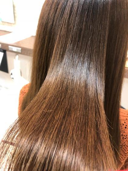 《極艶》髪質改善プレミアム縮毛矯正+トリートメント