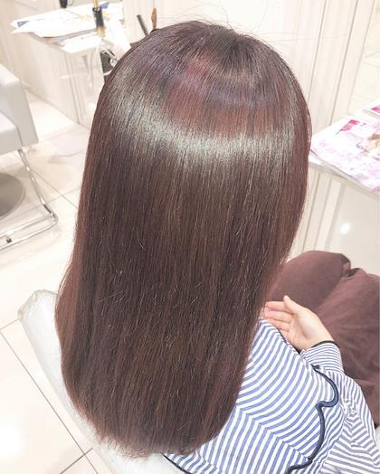 🍀圧倒的なツヤ髪に🍀縮毛矯正+ケアトリートメント