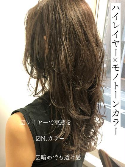 【最新☆ダメージレス】イルミナカラー or N.カラー+カット+炭酸spaTr¥14700→¥6260