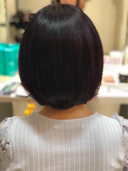 ⭐縮毛矯正+最高級トリートメント⭐