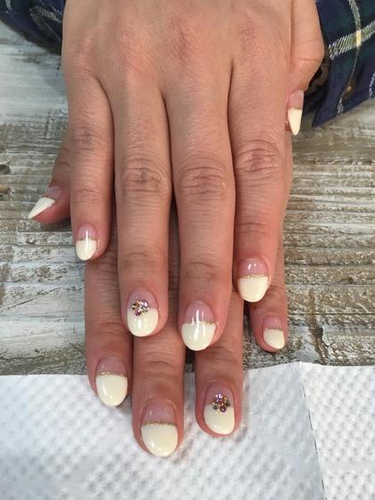 お客様☺︎ネイル✨シンプルアートコース nail所属・atelier-02のフォト