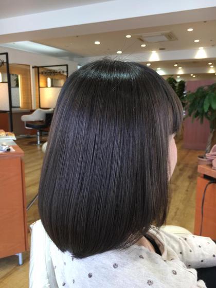 ✂️髪質改善縮毛矯正✨+カット