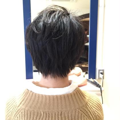 縮毛矯正 cut ふわふわに…♡ Lond  blanche所属・柴田彩香のスタイル