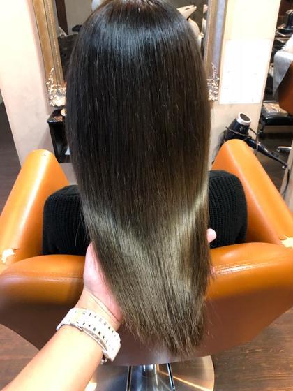 #外国人風グラデーションカラー #髪質改善トリートメント Hair DesignHaC所属・大山明洋のスタイル