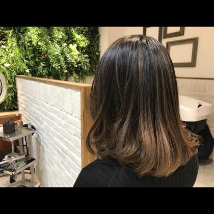 セットプラン★3D color【ハイライトorローライト】+treatment