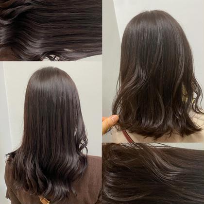 【💚オープン記念minimo特別価格💚】1日3名様限定✨似合わせカット+透明感カラー🌿秋向けて綺麗な髪へ💕
