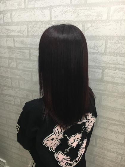 ブリーチ毛 → ヴァイオレット系カラー✨ Zina SHINJUKU所属・福間和也のスタイル