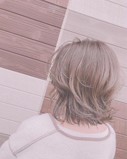 ⛄️cut&color&treatment⛄