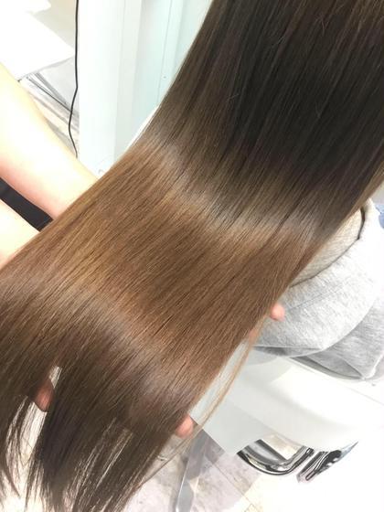 💖超オススメ✨✂️カット&イルミナカラー&髪質改善ヘアエステ✨トリートメントプレゼント🎁