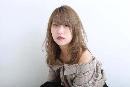 💕前髪カット無料💕✨ダメージ最小限外国人風🌟イルミナカラー+oggiotto マスクトリートメント✨