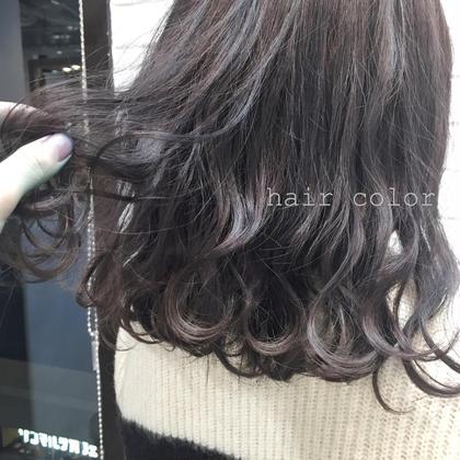 グレージュcolor❣️ 土居さおりのミディアムのヘアスタイル