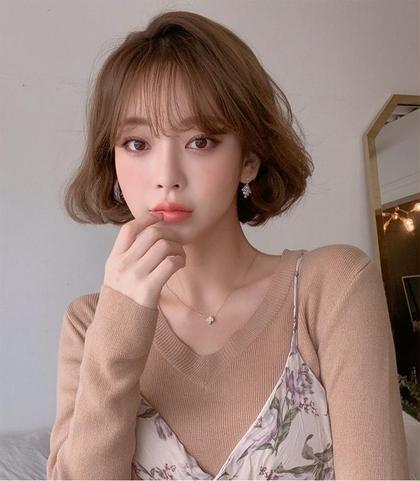 【 👧🏻韓国オルチャンセット🇰🇷 】前髪カット + 顔周りカット + シャンプー + オルチャン巻き