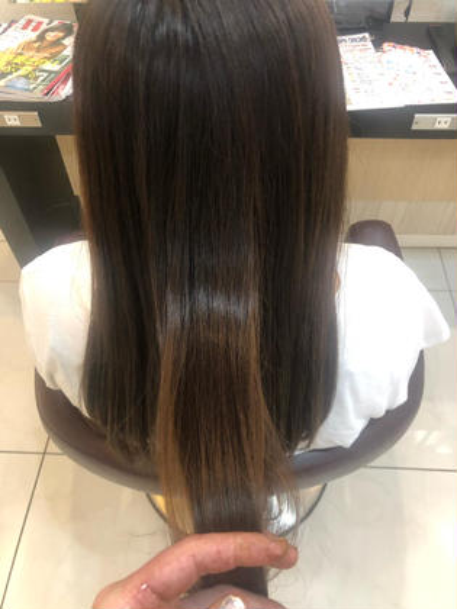 シャンプーブロー&髪質改善トリートメント