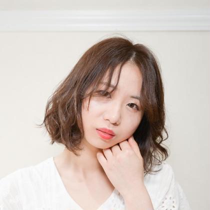 髪に優しいオーガニックフルカラー+ナノスチームうるツヤトリートメント✨【新規限定】