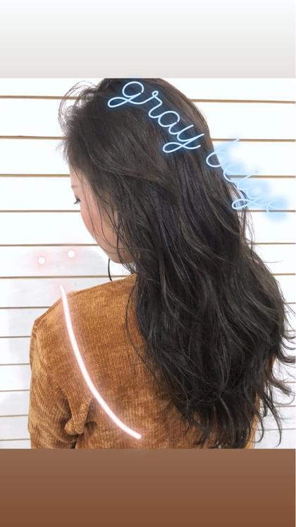 「ちょっぴりイメチェン❣️」前髪カット+上質カラー+前処理トリートメント❤