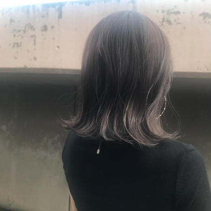 hair produce CUEON.所属の本田初音のヘアカタログ