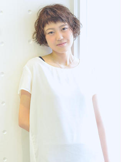 Melico hair所属・田中匡人のスタイル