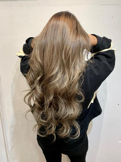 ❣️人気No.3❣️髪質改善イルミナカラー&3ステップトリートメント&贅沢ヘッドスパ    ※ロング料金なし