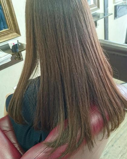 艶があるだけで髪は綺麗に見えます‼ Agu hair rio 本川越店所属・阿部拓磨のスタイル