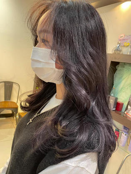 韓国で大流行✨艶髪 lavendercolor🇰🇷韓国初Kウォータートリートメント+超音波アイロン付き🇰🇷