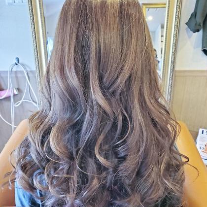 💜イルミナやWカラーで退色した髪に✨大好評!!アディクシーカラーでグレー系カラーと艶を取り戻します✨