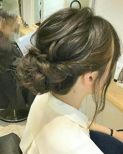 アップスタイル✨ RINK hair所属・森本真陽留のスタイル