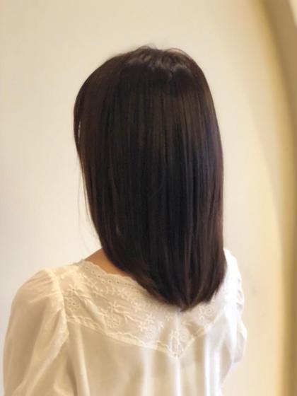 【#アオハル】【超オススメ】【広がる髪やごわつく髪も扱いやすく】髪質改善&小顔カット