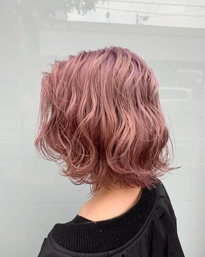 mauve pink🍬🌸  ベースのトーンによって色味、明るさ、発色が異なります (MASHU)wiz hair東原店所属・ホンダダイキのスタイル