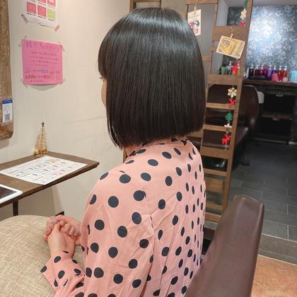 1日1名限定【ショート】艶髪美髪矯正コース(カット無し)