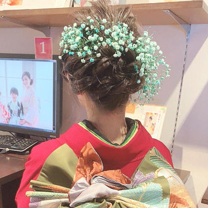 早川真幸のヘアアレンジ