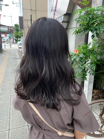 🚨黒染めしたくない方必見🚨赤みの出ない黒髪カラー✨♡トリートメントご希望の方+¥1,000♡✨