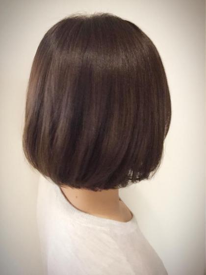 春ボブバック写真☘ kubuhair所属・nakamuraminakoのスタイル