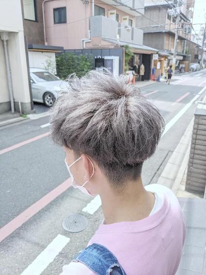 【男性限定】カット+ダブルカラー ¥7700