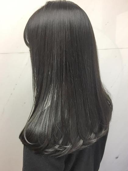 縮毛矯正+カット+トリートメント✨根本の髪質改善プラン